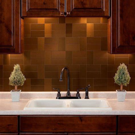 faux tin tiles for kitchen backsplash aspect grain 3 in x 6 in metal decorative wall 9669