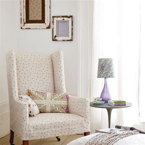 Living Room Chair Arm Covers by Upholstered Floral Armchair Living Room Designs Living