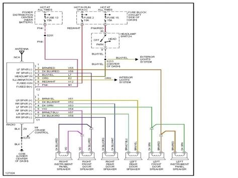 2006 dodge charger fuse box diagram wiring forums