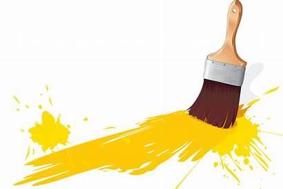 Brush Paint Transparent Paintbrush Clipart Clip Vector