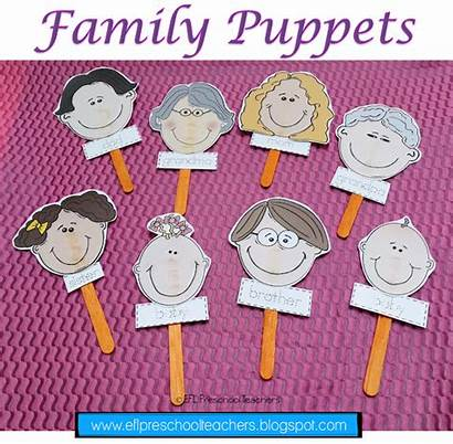Preschool Puppets Activities Esl Theme Efl Unit