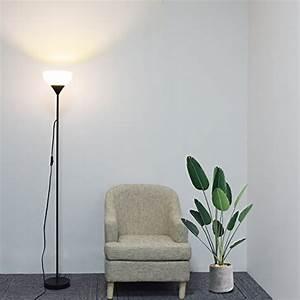 Stehlampe Für Wohnzimmer : sunllipe deckenfluter led stehlampe 9w 3000k warmwei e standleuchte augenfreundliches licht ~ Frokenaadalensverden.com Haus und Dekorationen