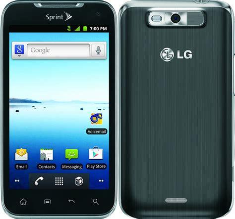 sprint android phones lg viper ls840 android smartphone sprint pcs gray