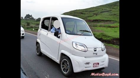 Smallest Car Price by Bajaj Re60 2015 Lightest And Smallest Car New