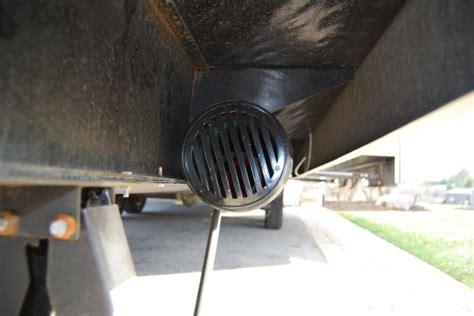 rv mods sewer hose storage ideas  examples