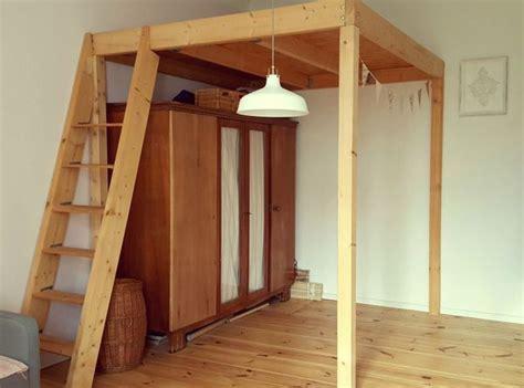 hochbett bauen altbau hochbett selber bauen altbau anleitung wohn design stilvolles hochbett
