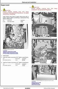 John Deere E130  E130lc  Sn From D300003  Excavator Repair