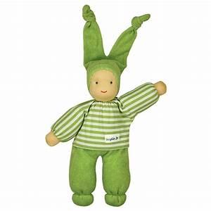 Keptin-Jr Organic Rag Doll Green