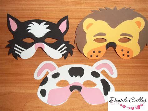 villa caramelo mascaras de animales