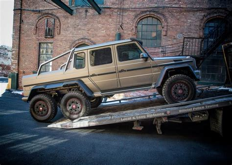 Mercedes 6x6 Usa by Mercedes Brings G63 Amg 6x6 To The Northeast Luxury