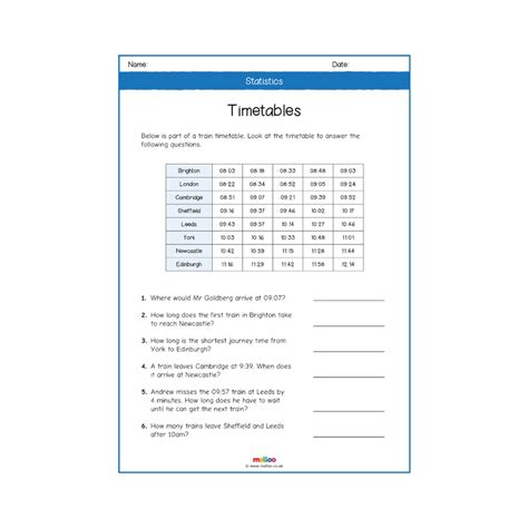statistics year  worksheets primary maths ks melloo