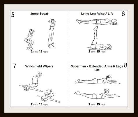 Esercizi Da Fare A Casa Per Tonificare 12 esercizi per glutei cosce e addominali da fare in casa