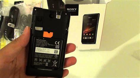 sony xperia    insert micro sd card youtube