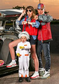 Family Back to the Future Halloween Costume