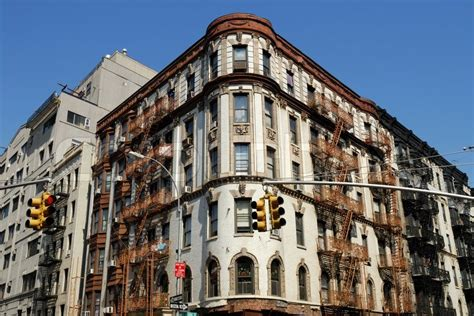 deco style building in new york city stock photo colourbox