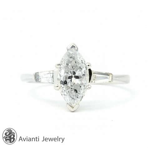 ring engagement ring marquise cut engagement ring
