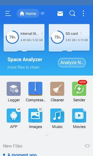 es file explorer file manager app released for tizen mobiles tizen experts