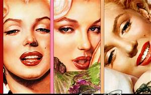 Marilyn Monroe Collage Wallpaper