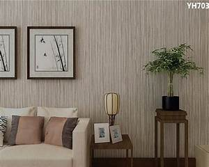 Beibehang papel de parede 3d Pure color wallpaper Family ...