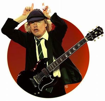 Angus Young Dc Ac Tovmauzer Deviantart Acdc