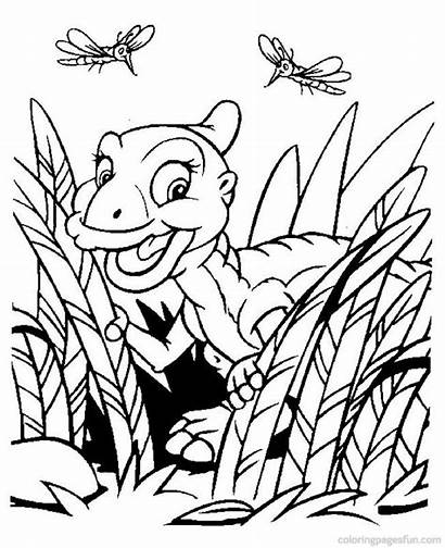 Land Before Coloring Pages Getcoloringpages Cera Foot