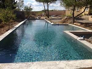 Piscine Couloir De Nage : couloir de nage nuances de bleu constructeur piscine b ton ~ Premium-room.com Idées de Décoration