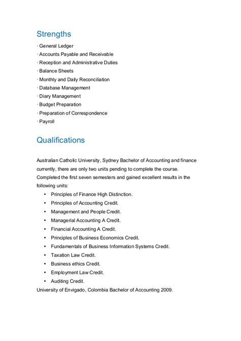 Sle Accounts Payable Resume Australia by Pdf Accounts Payable Resume Sydney Sales Book