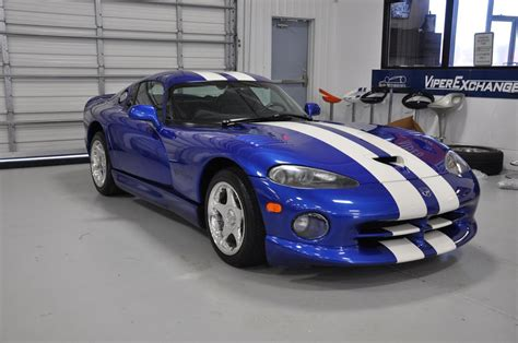 Dodge Viper Blue 1997 dodge viper gts blue with white stripes tx 18241847