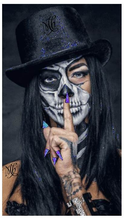 Halloween Makeup Costumes Face Painting Skull Looks