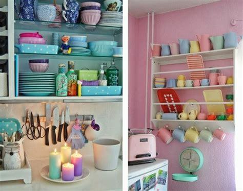 d馗o cuisine vintage décoration cuisine pastel