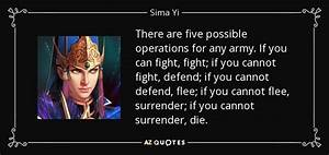 Sima Yi quote: ... Yi San Quotes