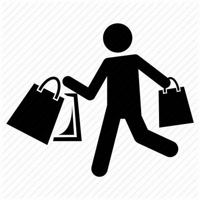 Icon Shopping Mystery Person Icons Fashioned Library
