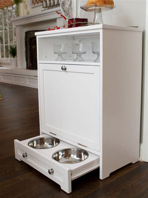 Pet Food Cabinet With Bowls by Photos Hgtv
