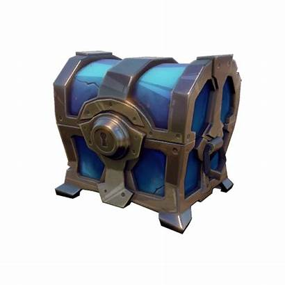 Fortnite Chest Treasure Chests Save Transparent Royale