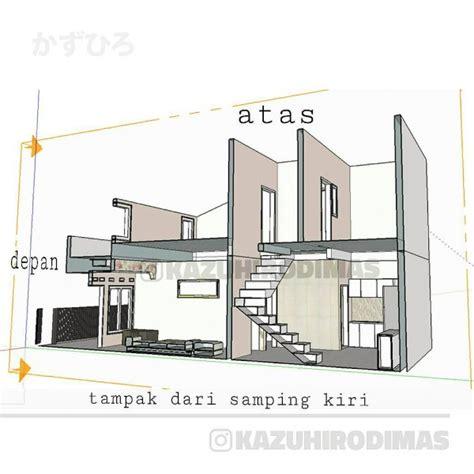 desain luar biasa rumah  lantai luas tanahnya