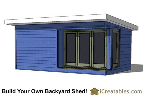 12 x 20 modern shed plans 12x20 modern shed plans build your backyard office space