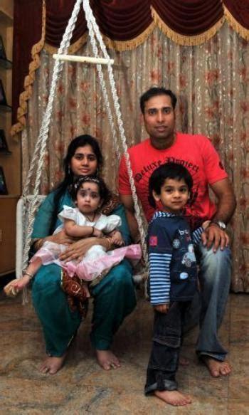 photo album  vvs laxman   wife saijala
