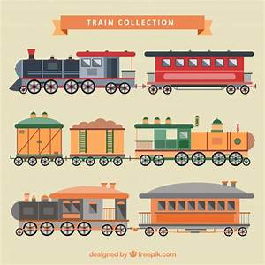 Train illustration collection Vector | Free Download