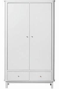 Kleiderschrank 2 Türig Weiß : wood kleiderschrank 2 t rig oliver furniture kleine fabriek ~ Eleganceandgraceweddings.com Haus und Dekorationen