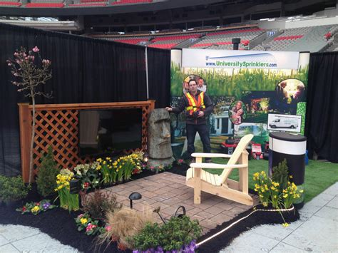 sprinklers is at the 2015 bc home and garden