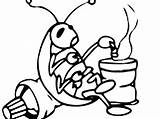 Cockroach Coloring Pages Cockroaches sketch template