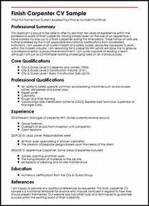 Electrician Resume Template Sample Electrician Resume