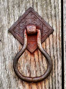 Rusty, Old, Door, Knocker, Photograph, By, Janice, Drew