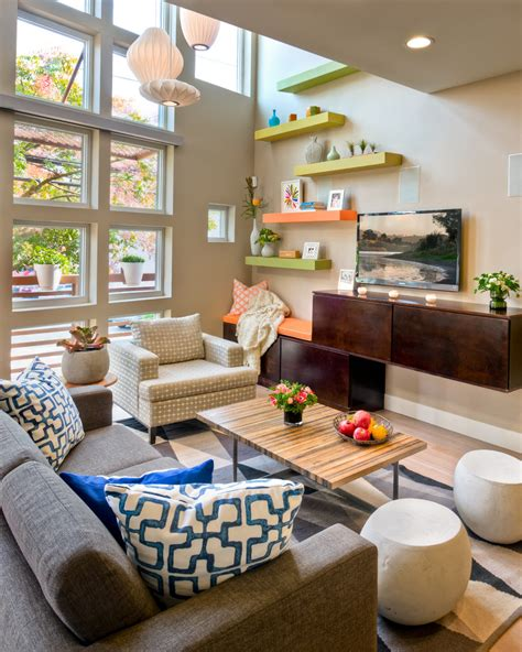 decorating bookshelves in family room awe inspiring wood wall mounted shelves for electronics