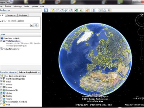telecharger google earth map pour win 7