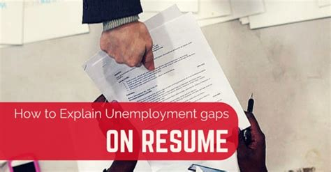 how explain unemployment gaps add photo gallery how to