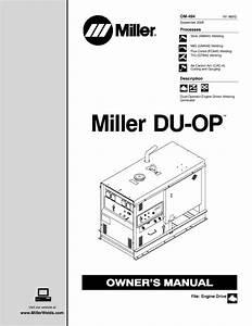 Repatriar Manuals Miller Wiring