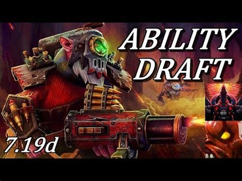 dota  ability draft  combos  op ranged carry
