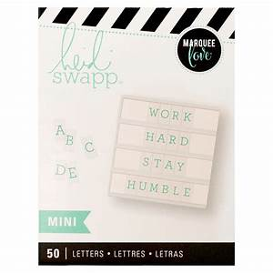 mini lightbox alphabet teal heidi swapp With mini light box letters