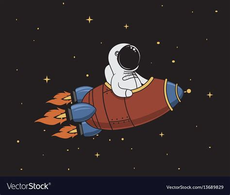 The animation objects are usually used in gif format which is very popular due to it's history, but the loading images in svg and css. astronaut flying in outer space on rocket.Character design ...